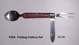 Folding Cutlery Set