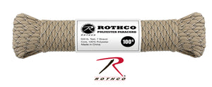 Polyester Paracord 550lb 100ft