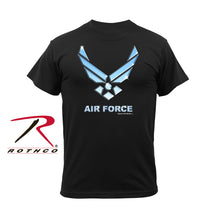 Load image into Gallery viewer, Military T-Shirt - Air Force (Black)