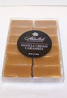 Abdallah 8oz. box of Caramels