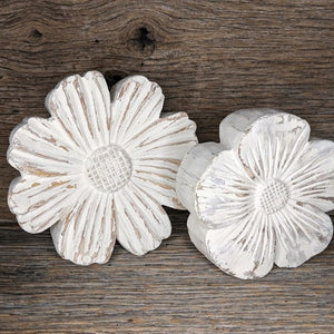 Round Resin Flowers
