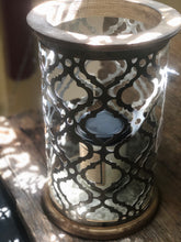 Load image into Gallery viewer, Galvanized Die-Cut Lantern