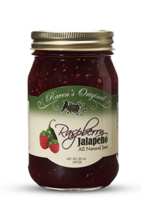 Raspberry Jalapeno All Natural Jam