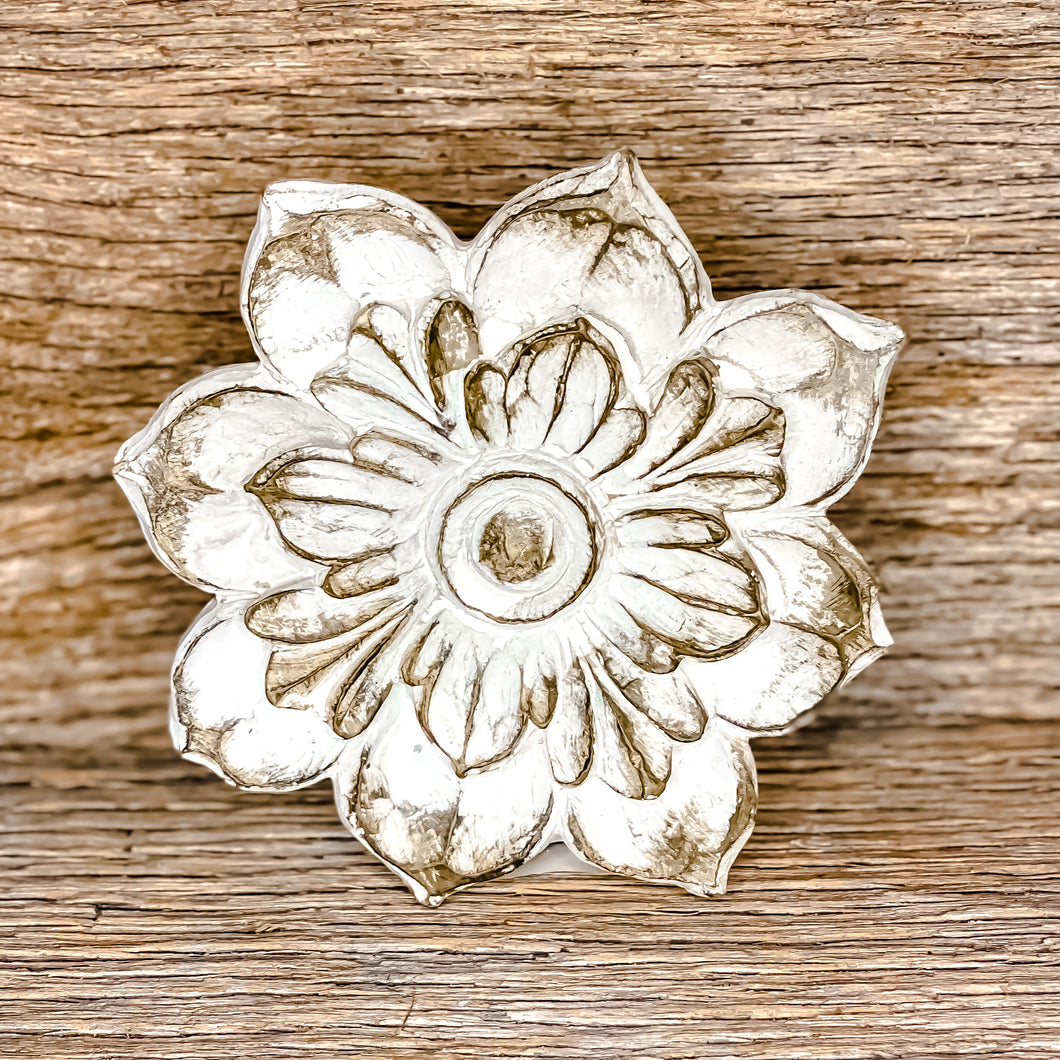 Carved Round Flowers