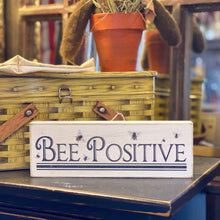 Load image into Gallery viewer, Wooden Bee Sign