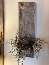 Load image into Gallery viewer, Mini Eucalyptus Vine Candle Wreath