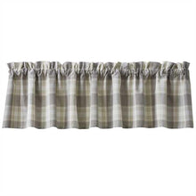 Load image into Gallery viewer, Weathered Oak Valance Curtain