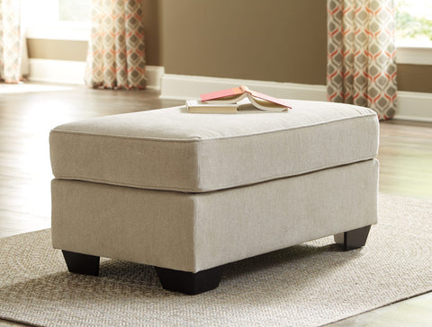 Ashley 112 Lisle Nuvella Ottoman