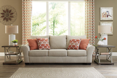 Ashley 112 Lisle Nuvella Sofa