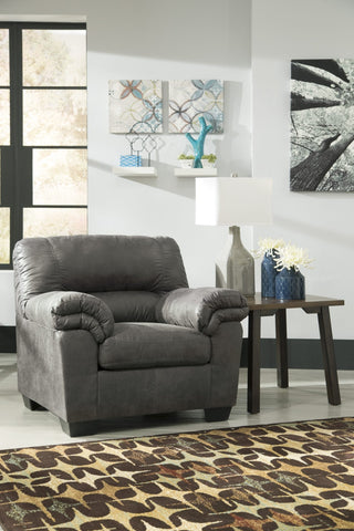Ashley 120 Bladen Chair - Slate