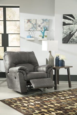 Ashley 120 Bladen Rocker Recliner - Slate
