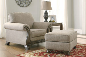 Ashley 18003 Claremorris Chair and Ottoman