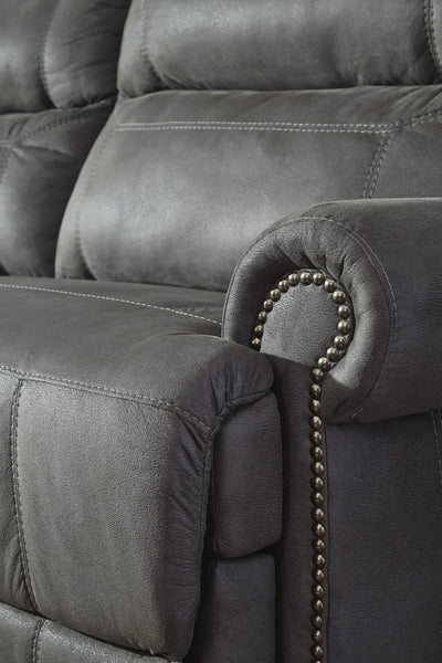 Ashley 384 Austere Power Reclining Sofa Detail