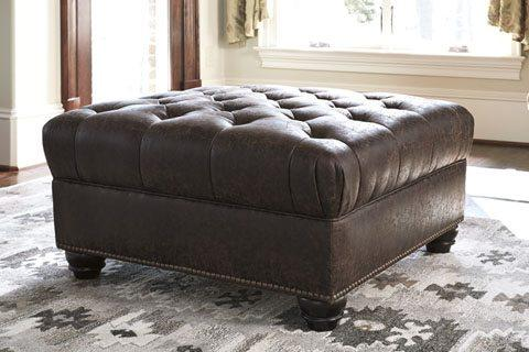 Ashley 433 Ilena Oversized Accent Ottoman