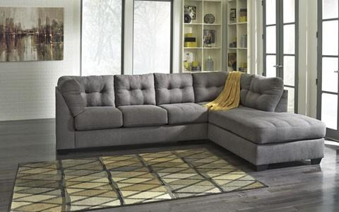 Ashley 452 Maier Sectional - Charcoal