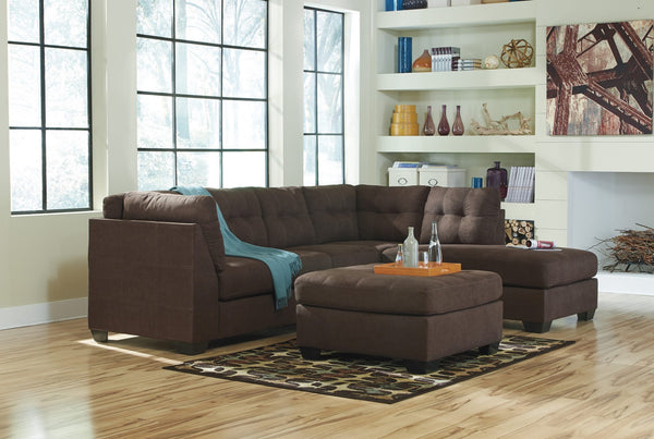 Ashley 452 Maier Sectional - Walnut