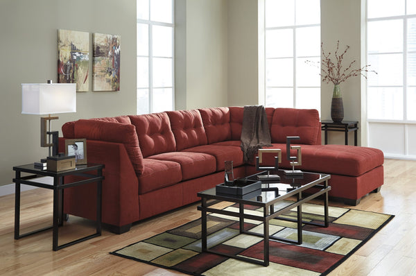 Ashley 452 Maier Sectional - Sienna