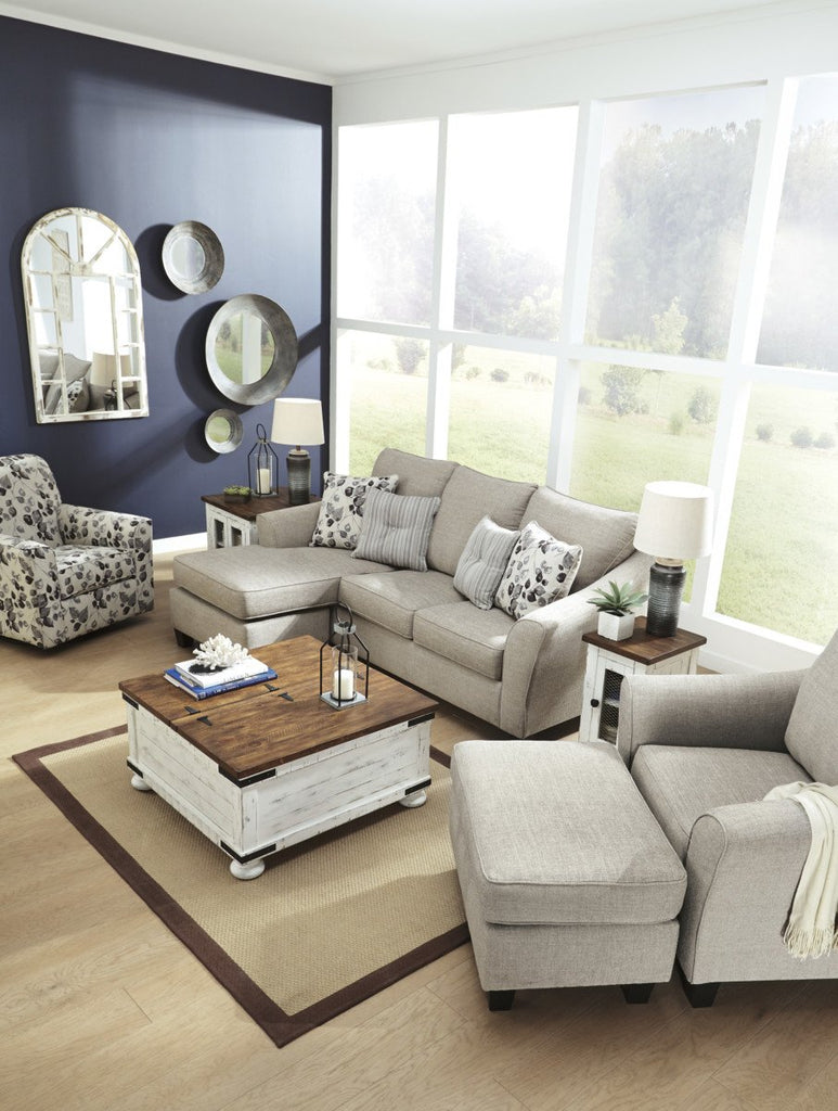 Sensational Ashley 497 Abney Sofa Chaise Best Furniture Gmtry Best Dining Table And Chair Ideas Images Gmtryco