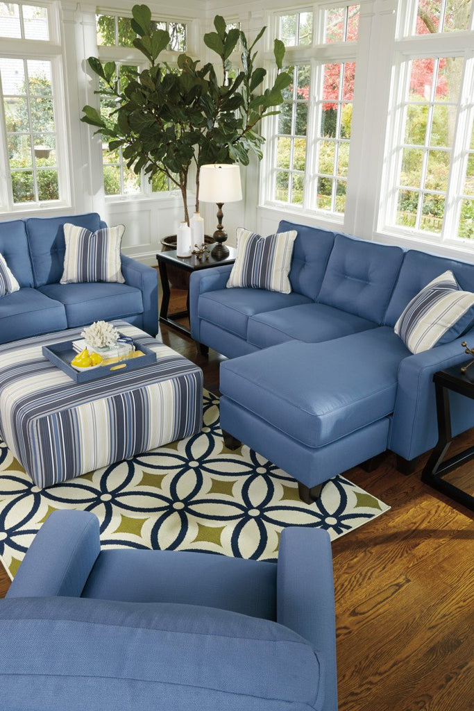 Pleasing Ashley 687 Aldie Nuvella Sofa Chaise Best Furniture Gmtry Best Dining Table And Chair Ideas Images Gmtryco