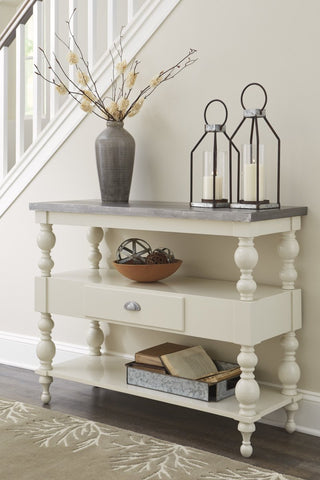 Ashley A400 Fossil Ridge Console Sofa Table