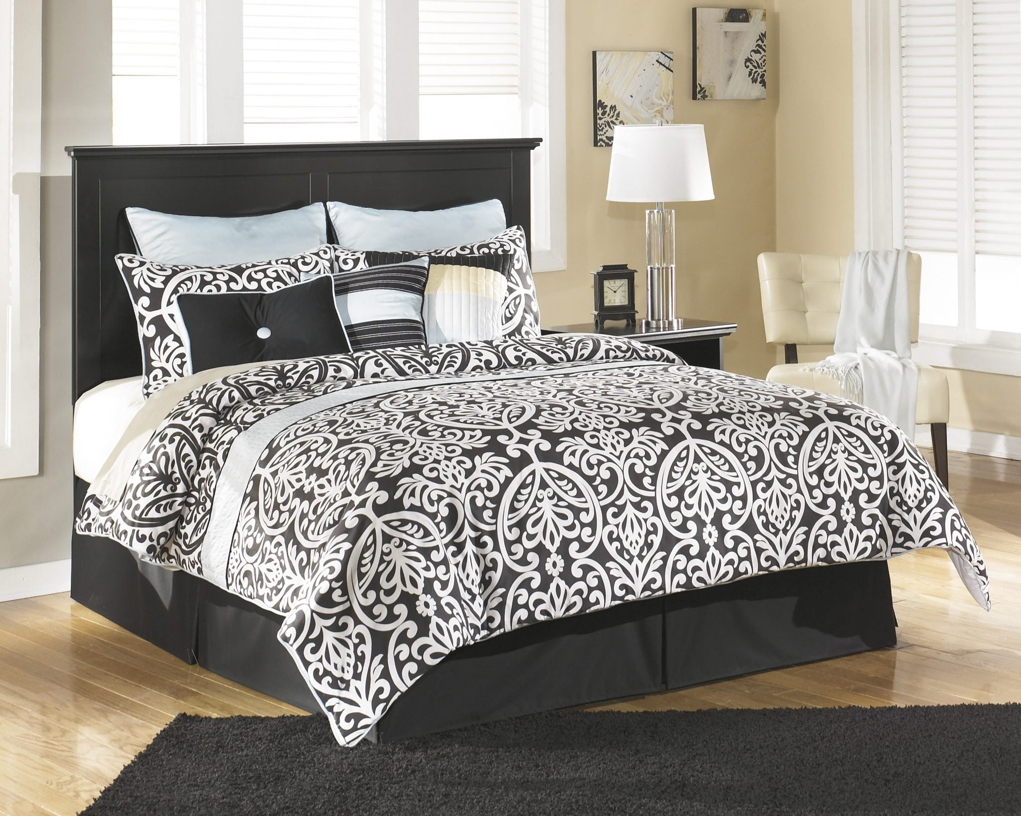 Ashley B138 Maribel King Headboard