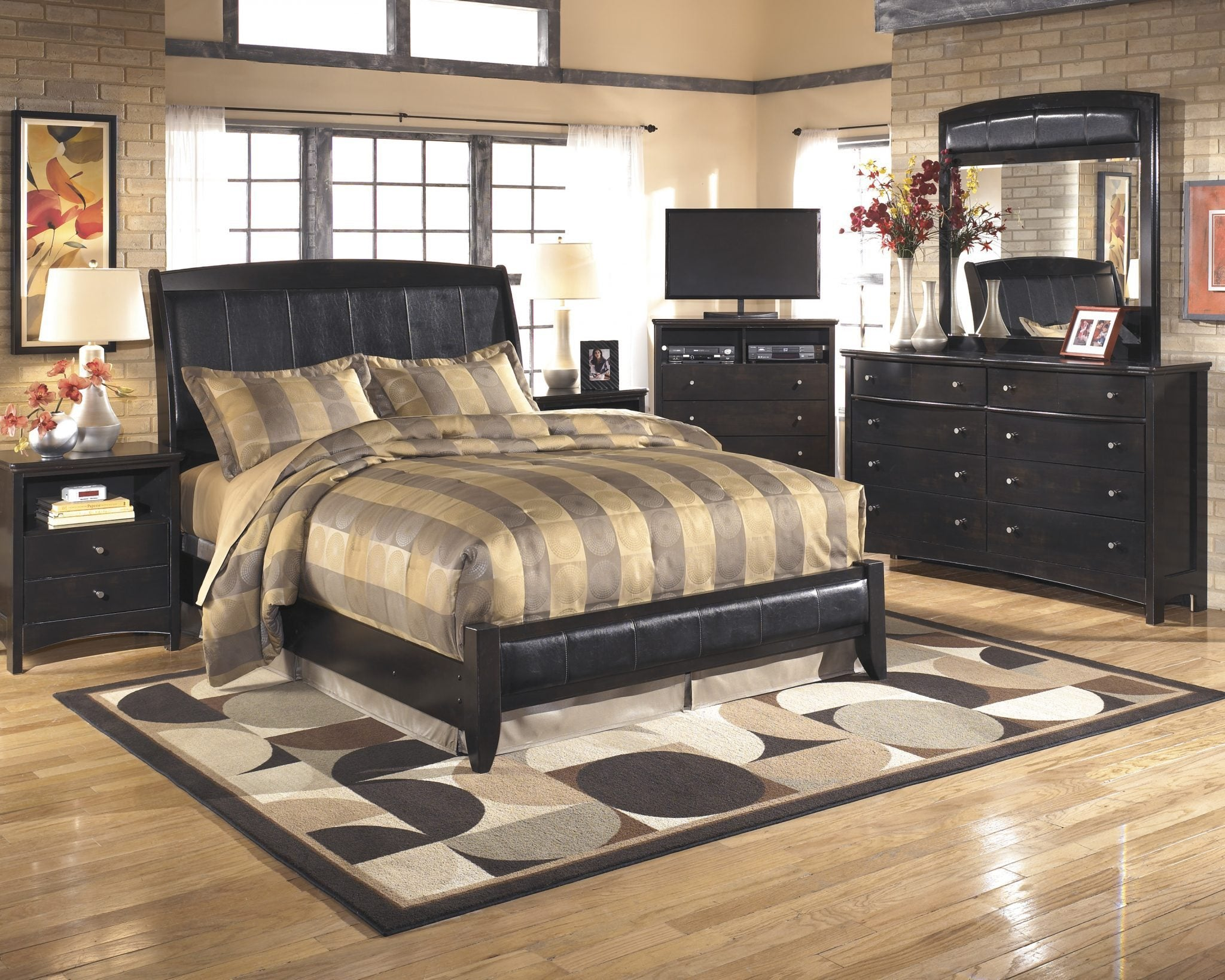 Ashley B208 Harmony Queen Bed