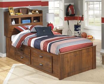 Ashley B228 Barchan Twin Bedside Storage Bed