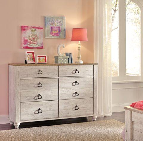 Ashley B267 Willowton Youth Dresser