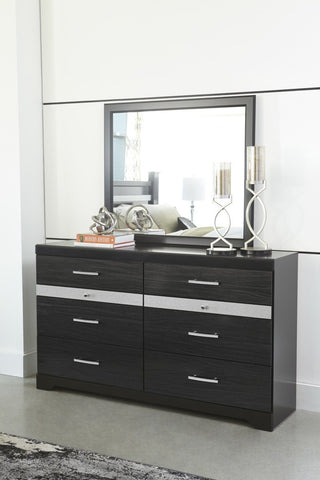 Ashley B304 Starberry Dresser/Mirror