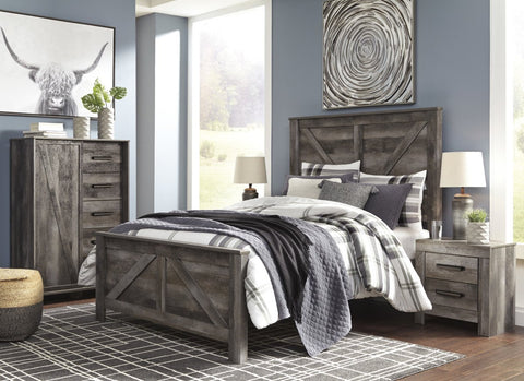 Ashley B440 Wynnlow Twin Bed