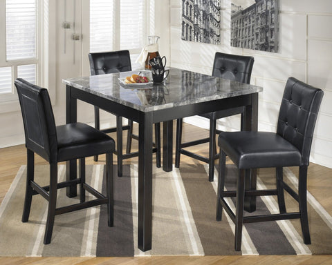 Ashley D154 Maysville Square Counter Table Set