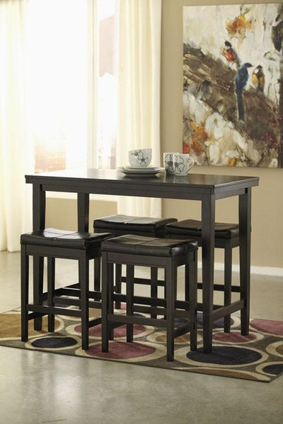 Ashley D250 Kimonte Counter Table Set