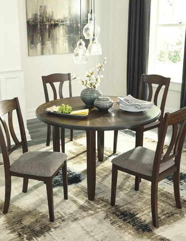 Ashley D362 Charnalo Round Table Set