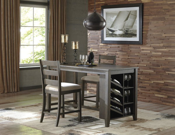 Ashley D397 Rokane Storage Counter Table
