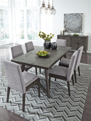 Ashley D568 Besteneer Dining Room Table