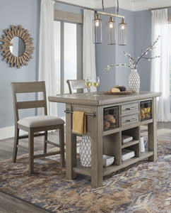 Ashley D732 Chapstone Kitchen Island
