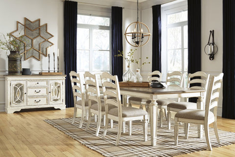 Ashley D743 Dining Room EXT Table Set
