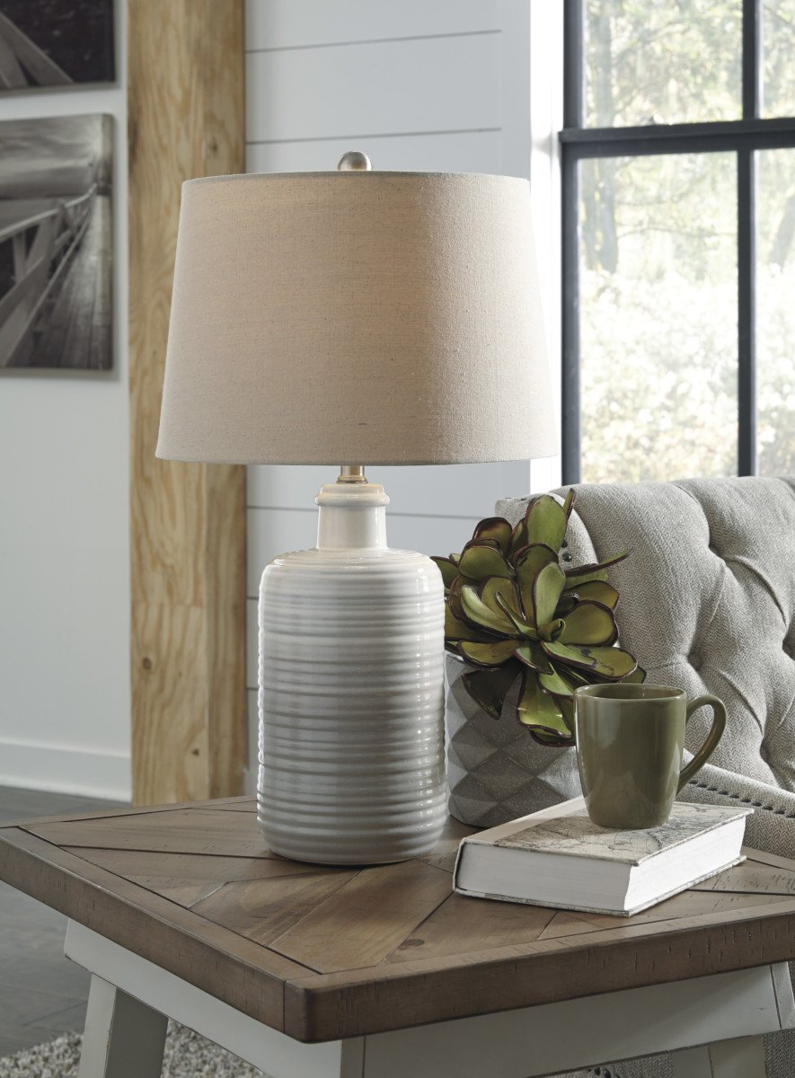 Ashley L121 Marnina Ceramic Table Lamp