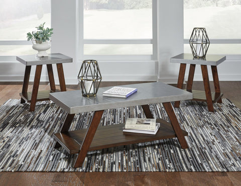 Ashley T295 Bellenteen Occasional Table Set