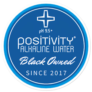 Positivity Black Owned Bubble-free Sticker