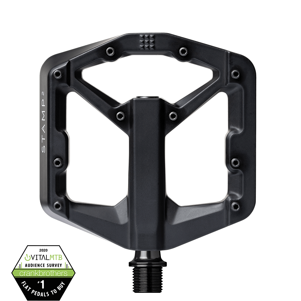 Crankbrothers Stamp 2 Small Black