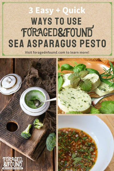 Recipe: 3 Easy Ways to Use Foraged & Found Sea Asparagus Pesto