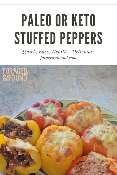 Recipe: Paleo or Keto Stuffed Peppers