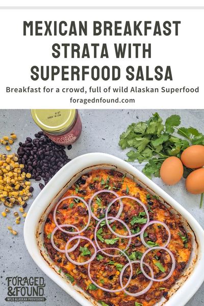 Recipe: Superfood Mexican Breakfast Strata