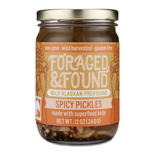 Load image into Gallery viewer, Spicy Kelp Pickles - Foraged & Found
