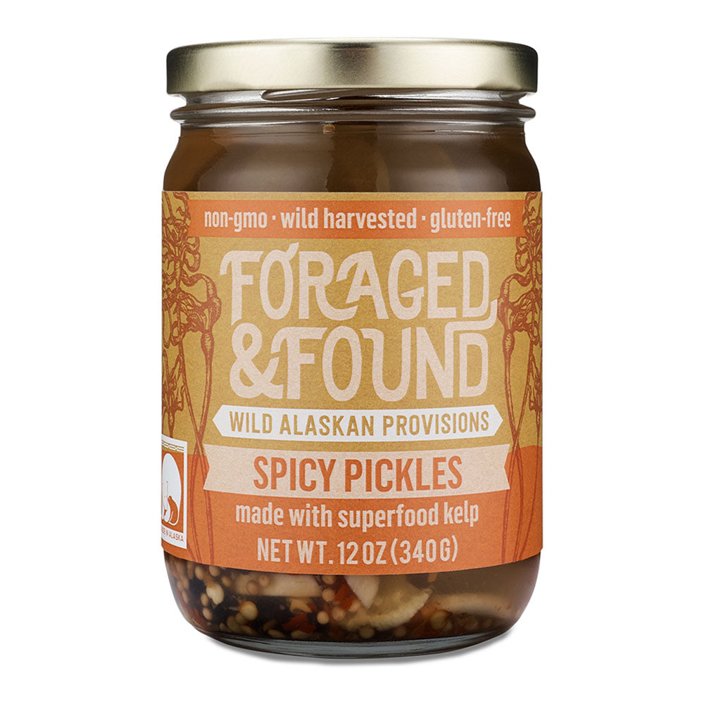 Spicy Kelp Pickles
