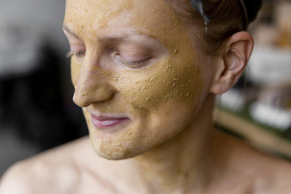 Golden Clay Mask & Scrub