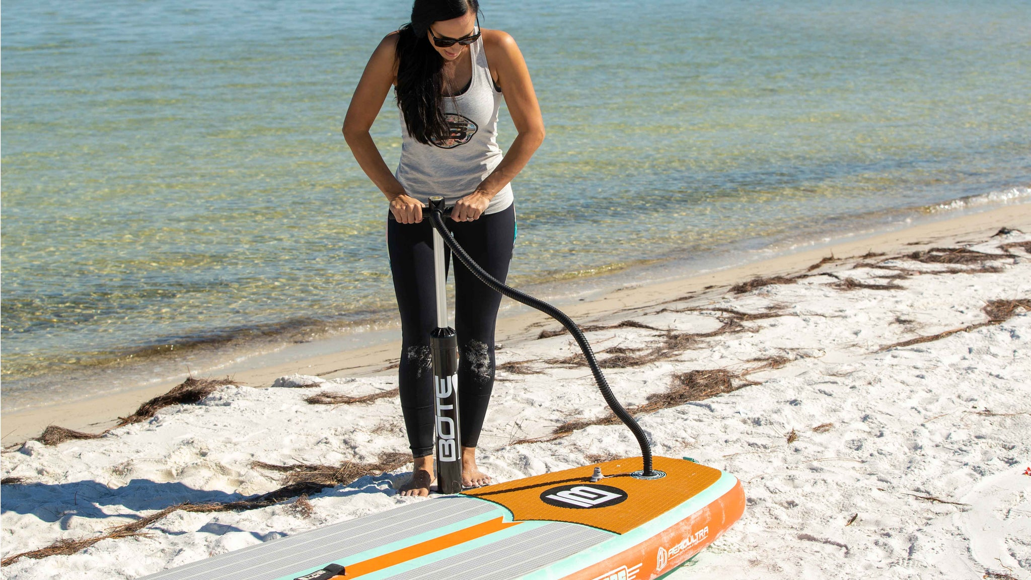 How to Inflate and Deflate a Paddle Board