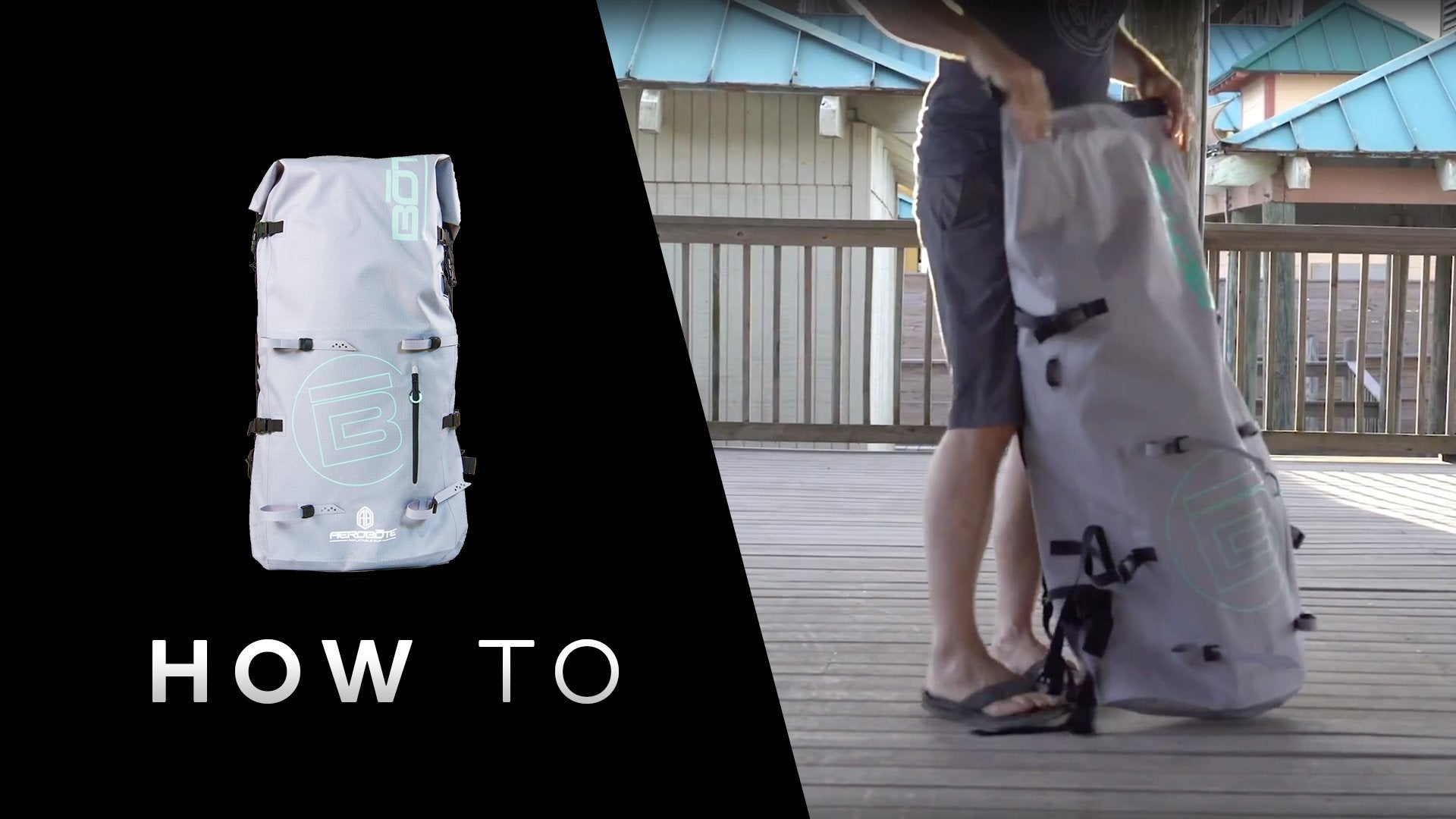 How to Pack Up Your AeroBOTE Inflatable Paddle Board
