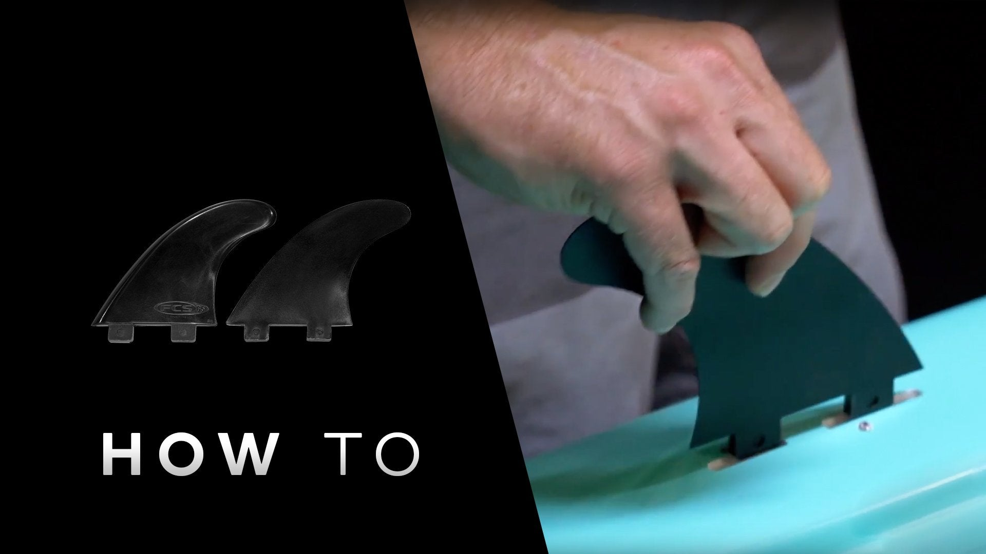 How to install side fins on your BOTE paddle board